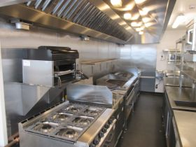 Commercial Kitchen Extraction Hoods