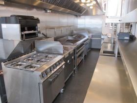 Commercial Kitchen Extractor Cooklines and equipment options